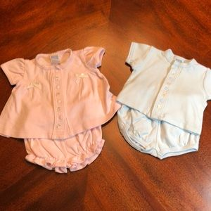 Had twins? Coming home boy/girl outfits